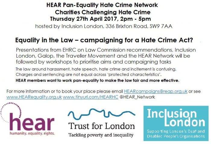 Hate Crime network 27.4.17
