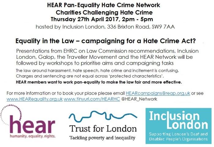 Hate Crime network 27.4.17