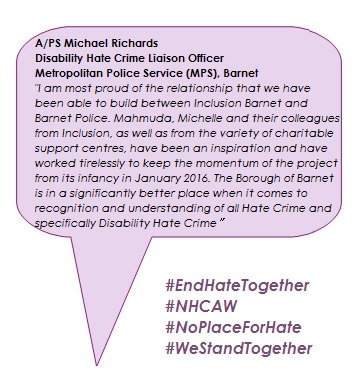 EndHateTogether PS M Richards