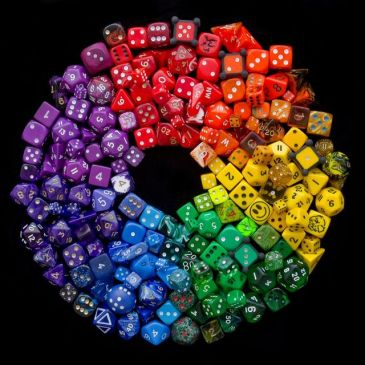 Dice rainbow