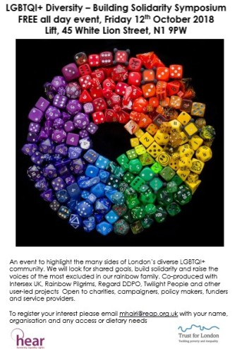 LGBTQI Solidarity Symposium image